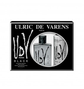 UDV BLACK FOR MEN COFFRET 2 pz