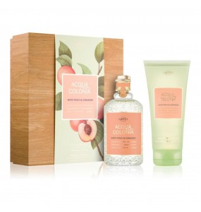 ACQUA eau de cologne WHITE PEACH CORIANDER COFFRET 2 pz