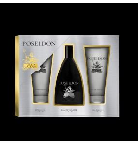 POSEIDON GOLD OCEAN FOR MEN COFFRET 3 pz