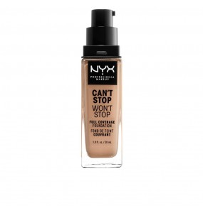 CAN T STOP WON T STOP full coverage foundation medium buff